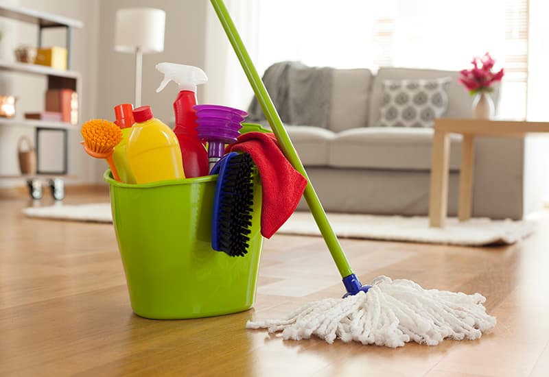 Spring Cleaning Your Home During Social Distancing